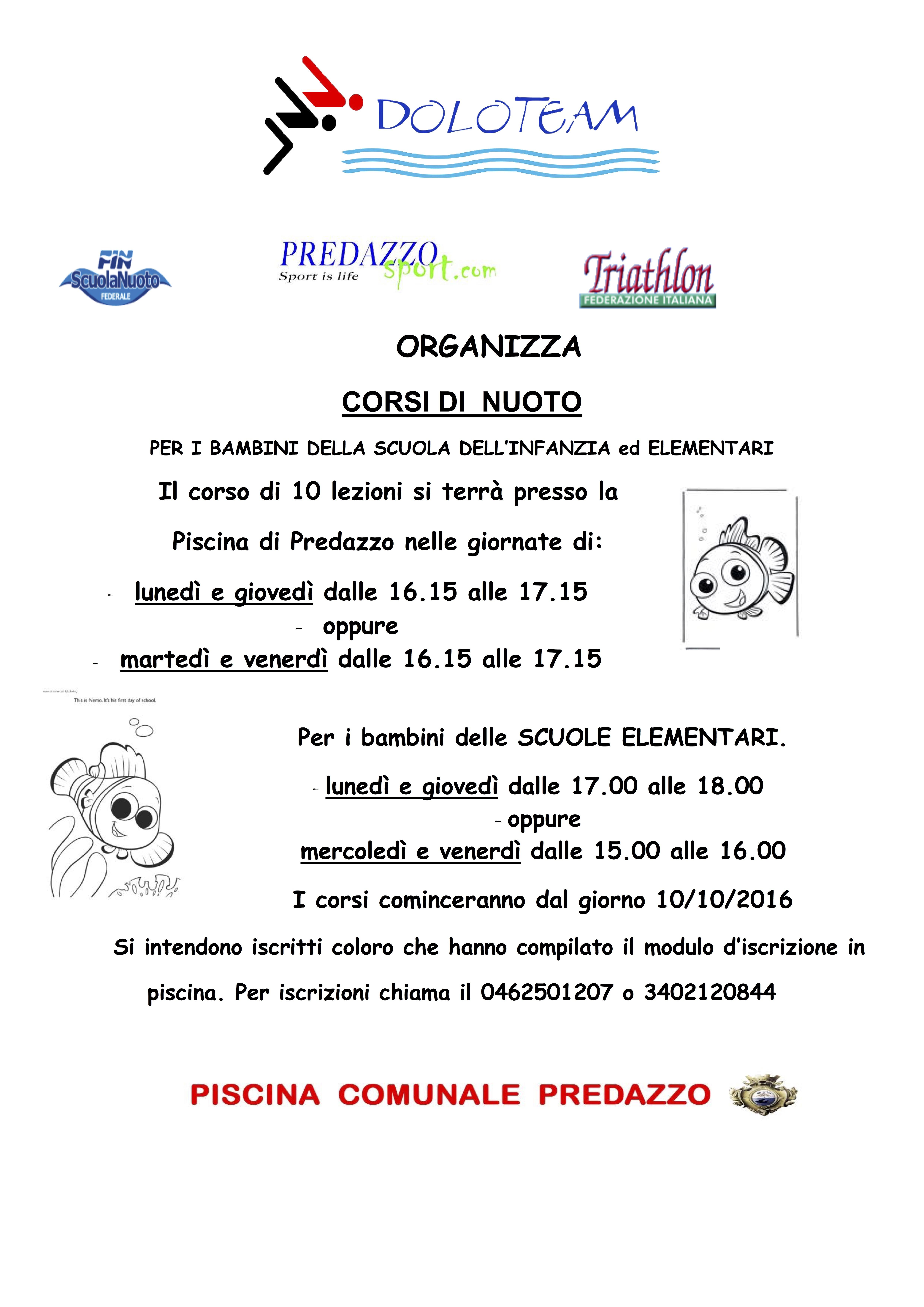 003 CORSO ASILO e Elementari OTTOBRE 2016